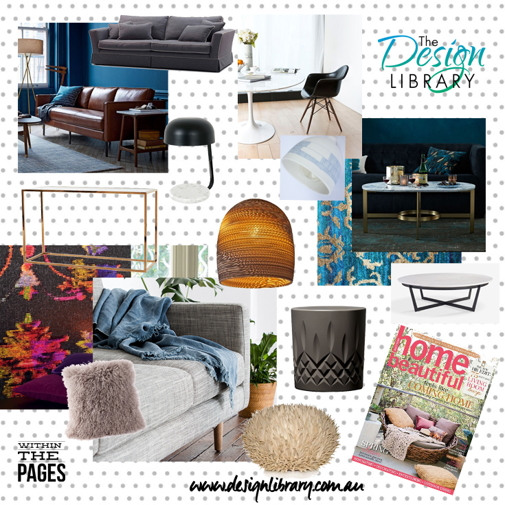 Within The Pages - Home Beautful October 2015 - Interior Design Magazines | designlibrary.com.au