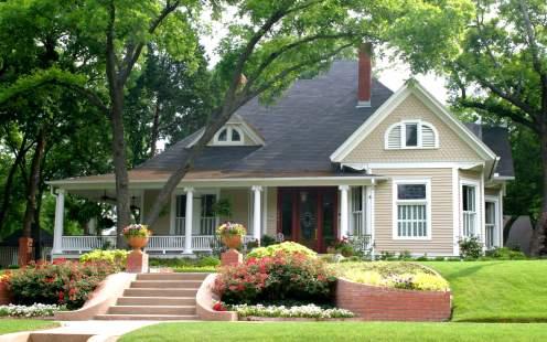 Real Estate Villa House
