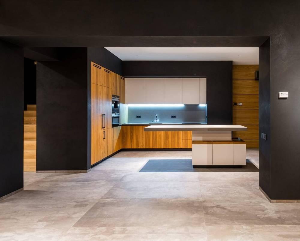 simple interior of contemporary multistory apartment