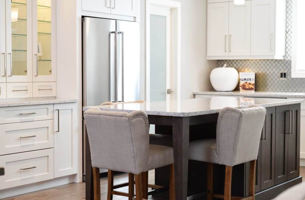 apartment architecture cabinets chairs