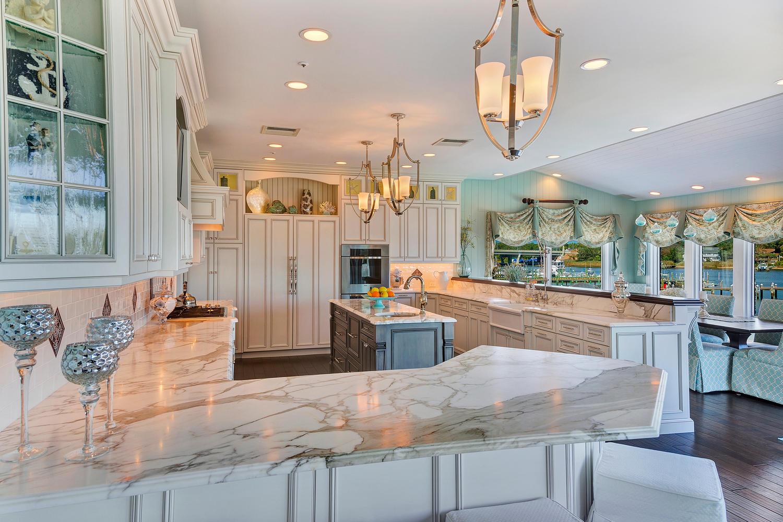 Coastal Elegant Kitchen Point Pleasant New Jersey By