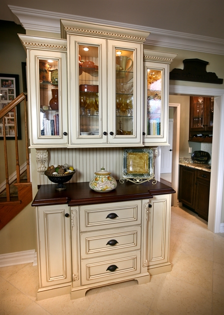 Built Cabinet Bar Ideas