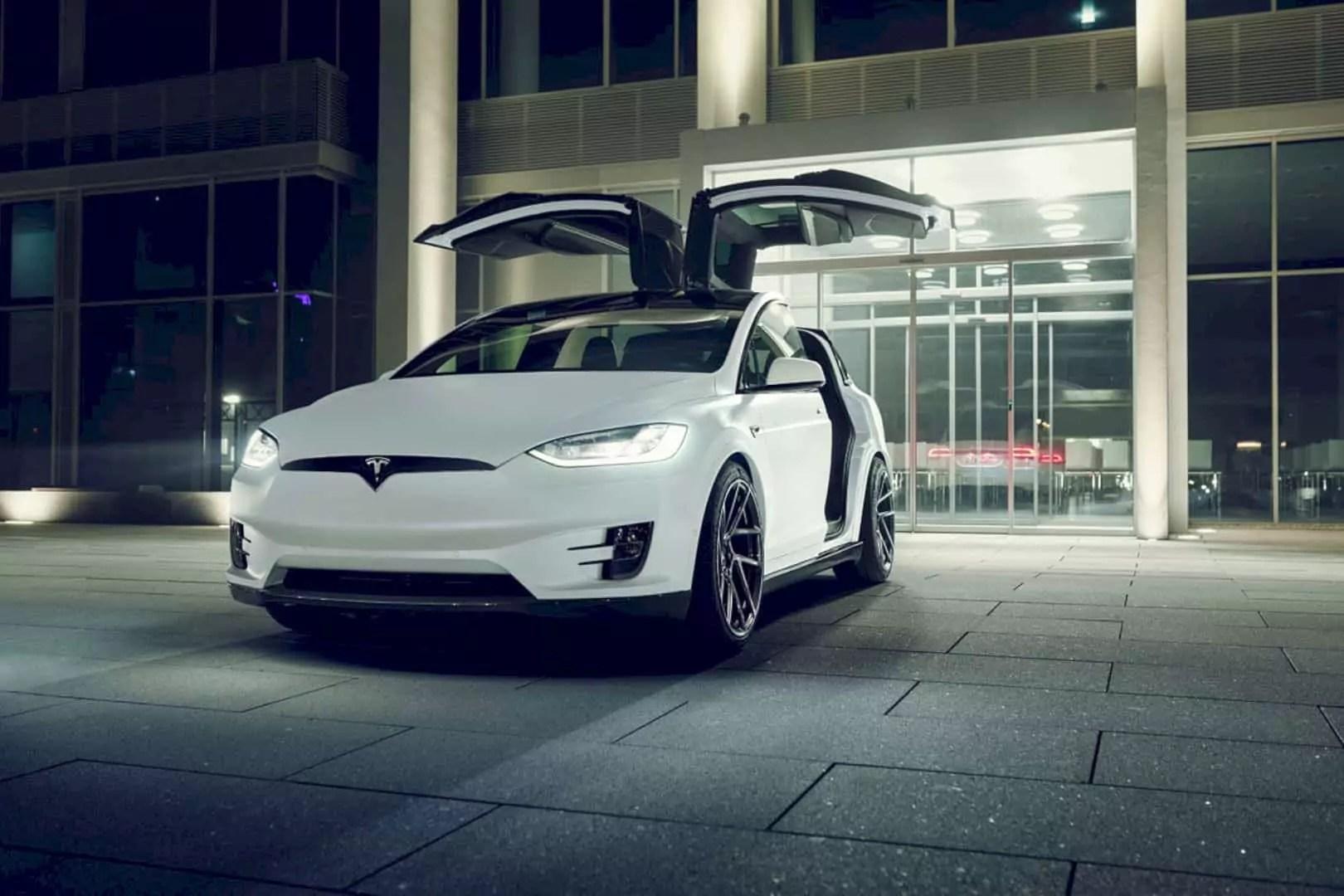 The Perfect Version of Tesla Model X by Novitec