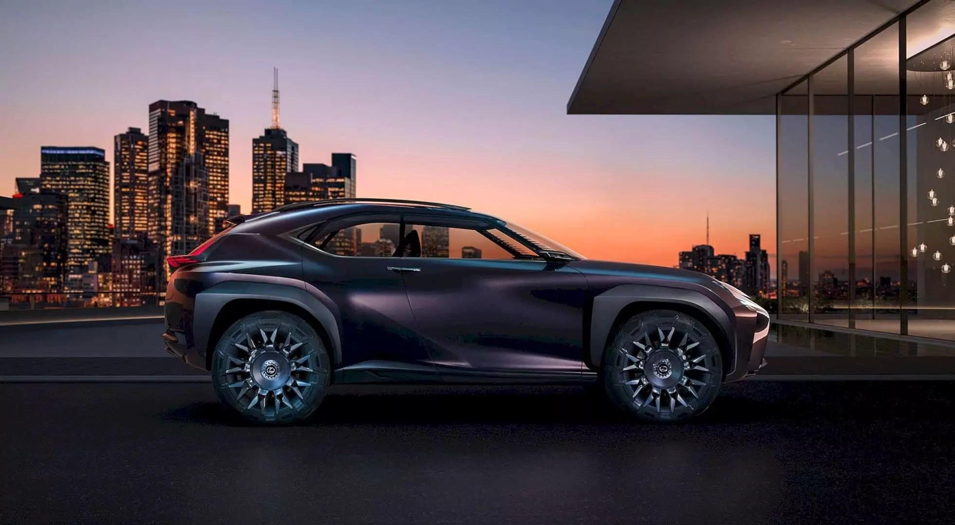 Lexus Concept Car Code UX: A Futuristic Inside Out
