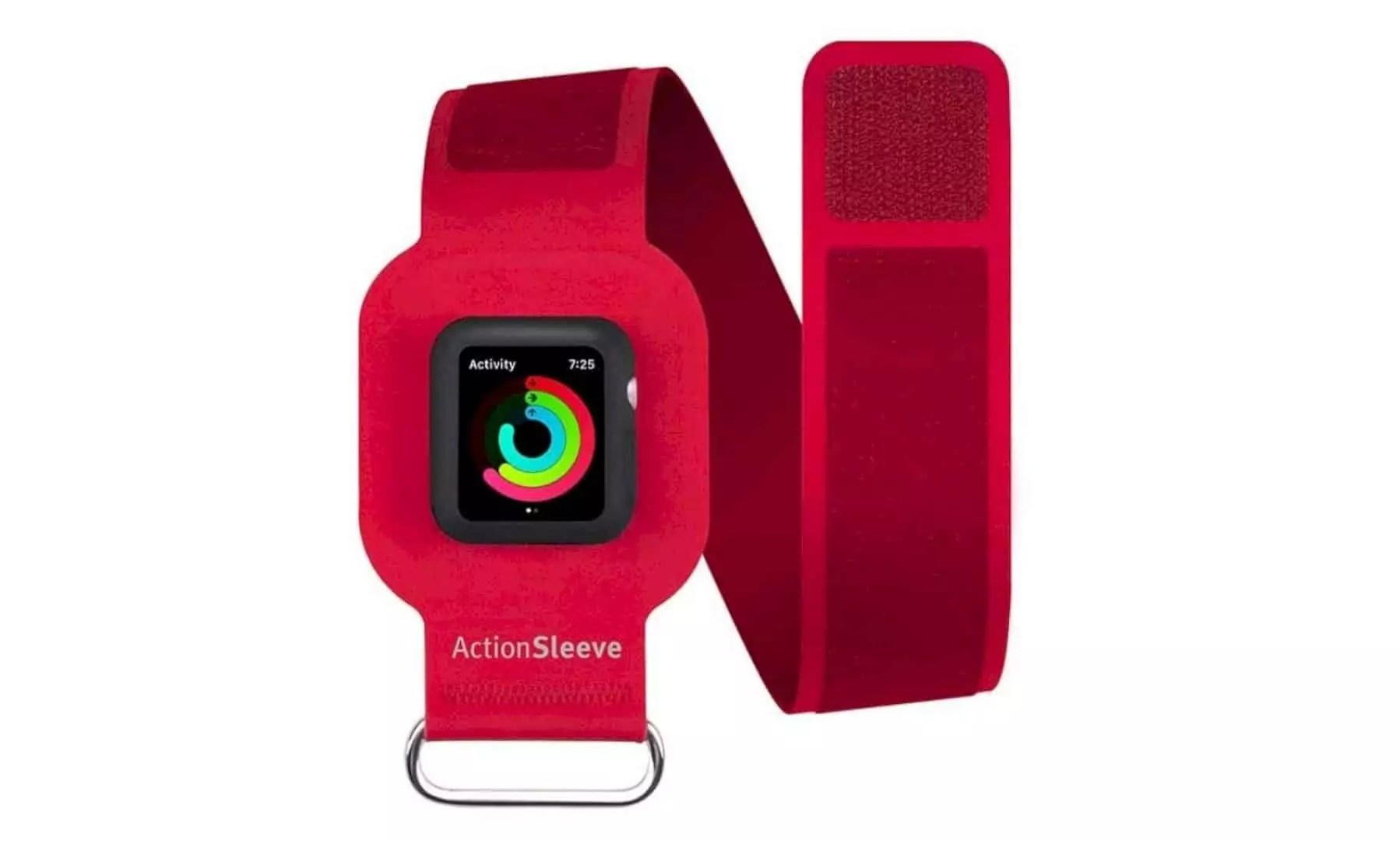 ActionSleeve Armband: Viewable and Controllable Strap for Apple Watch