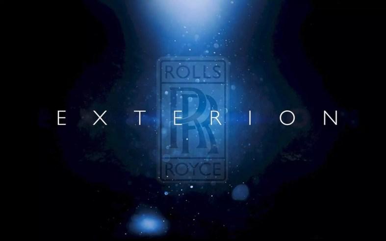 Rolls Royce Exterion Concept 1