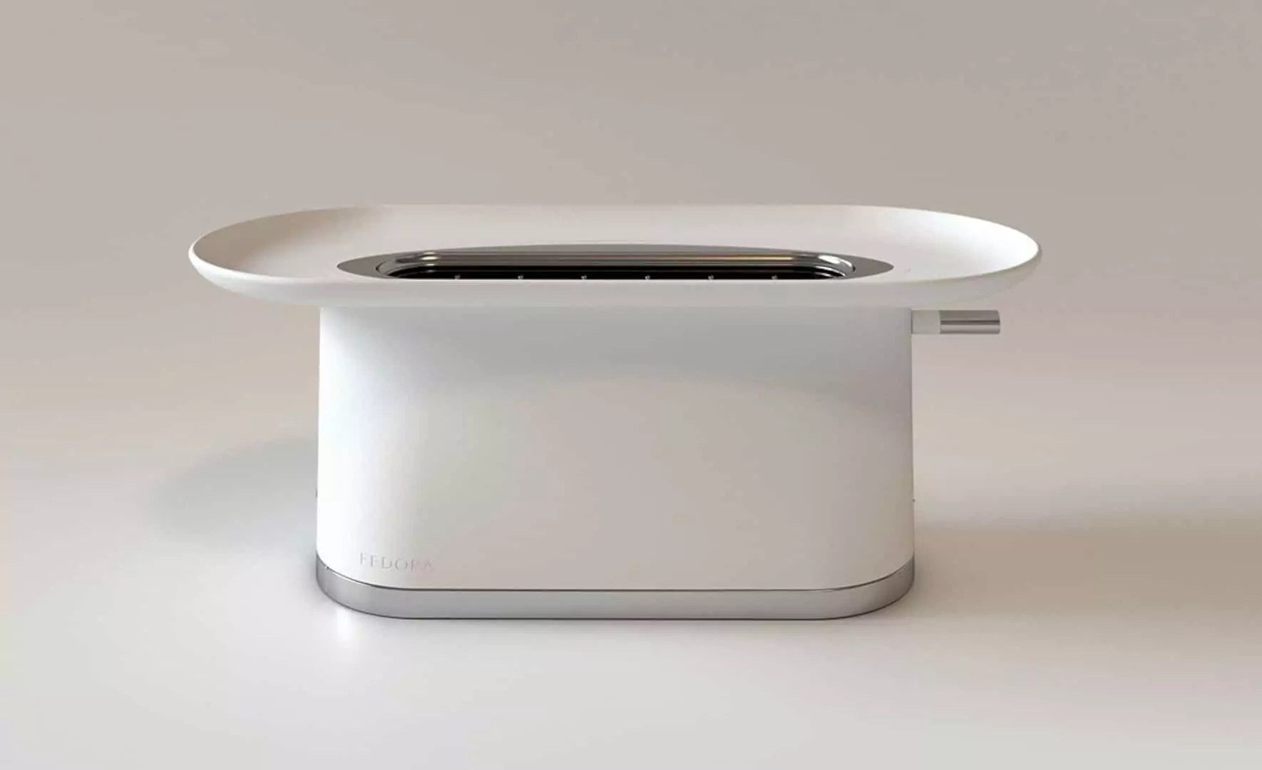 Fedora Toaster: A Magic Hat Toaster Design for Special Breakfast