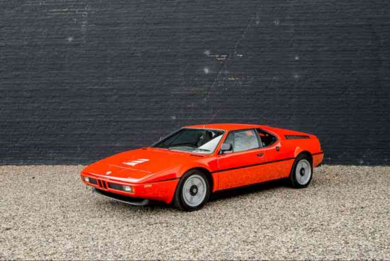 1980 Bmw M1 Coupe The Bmw Classic Certified Design Listicle