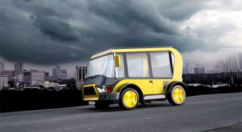Solar Taxi 1