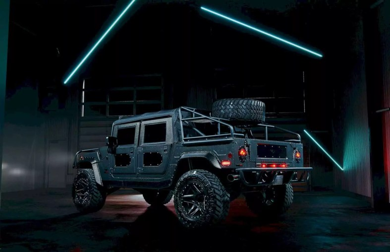 Mil Spec Automotive Hummer H1 Launch Edition 1
