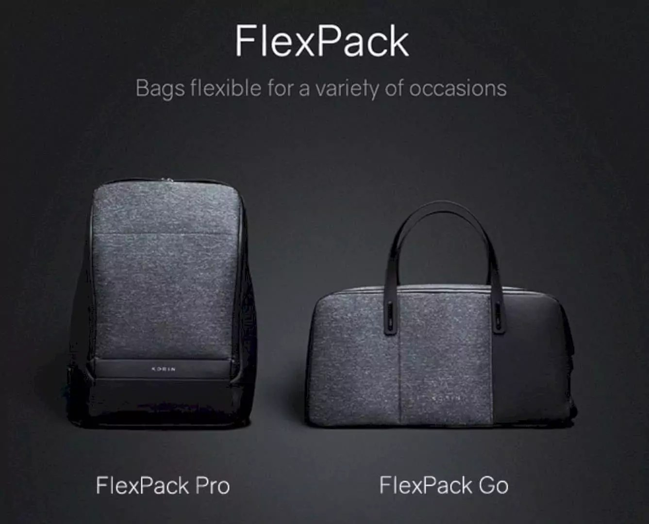FlexPack: The Most Functional Anti-Theft Duffle and Backpack Ever