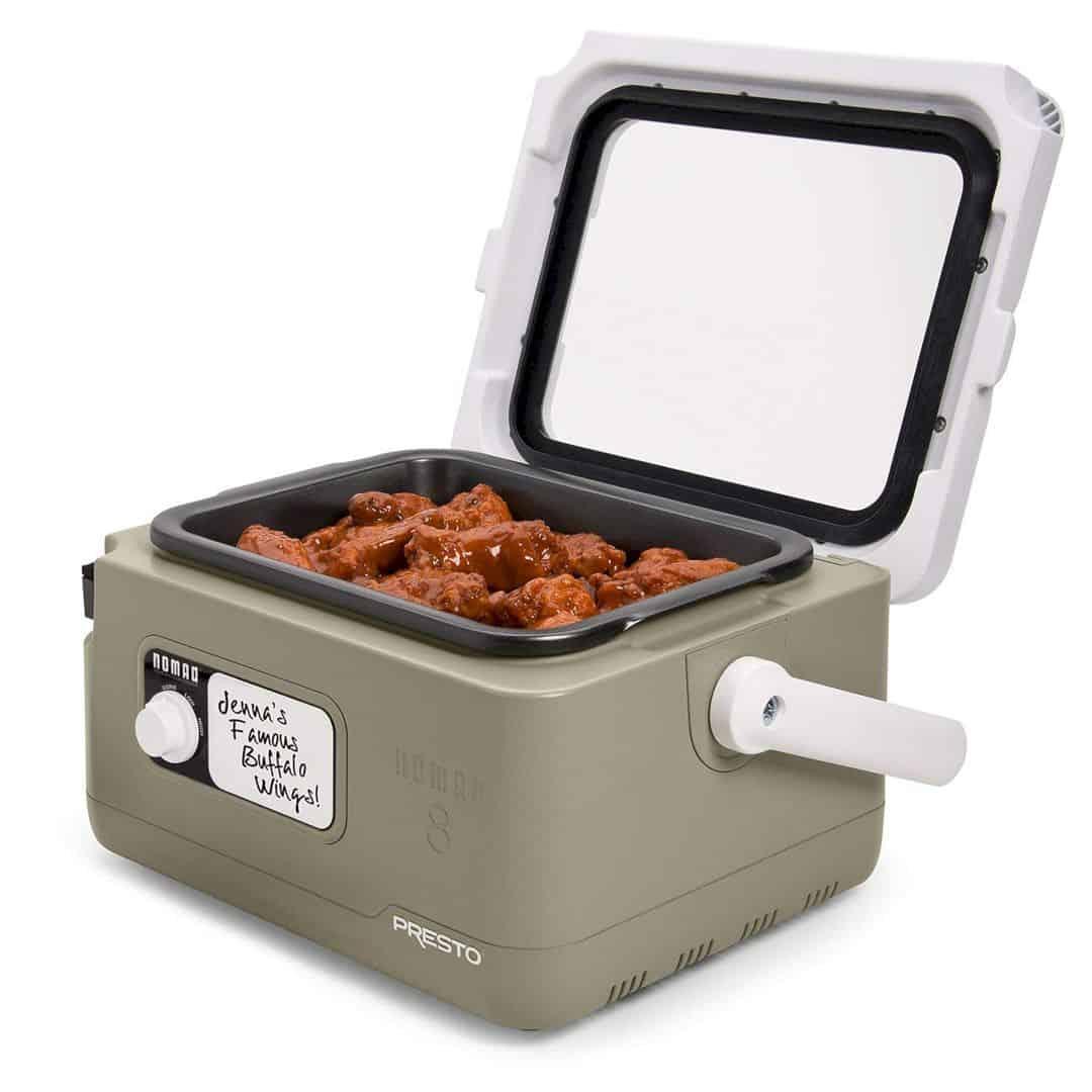 PRESTO NOMAD Traveling 8 Quart Slow Cooker 1