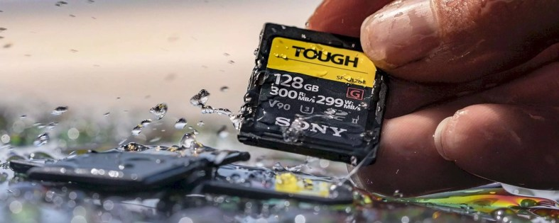 Sony Tough Card 3