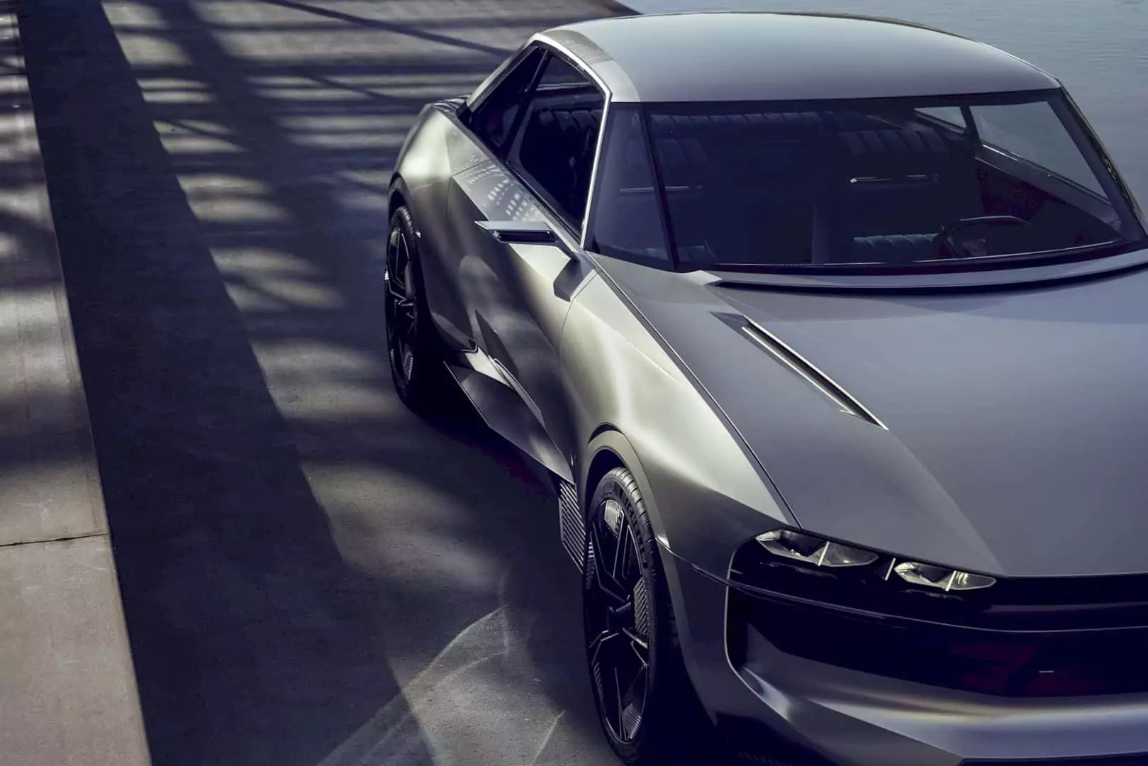 Peugeot e-Legend Concept: The Futuristic Reincarnation of 504 Coupe