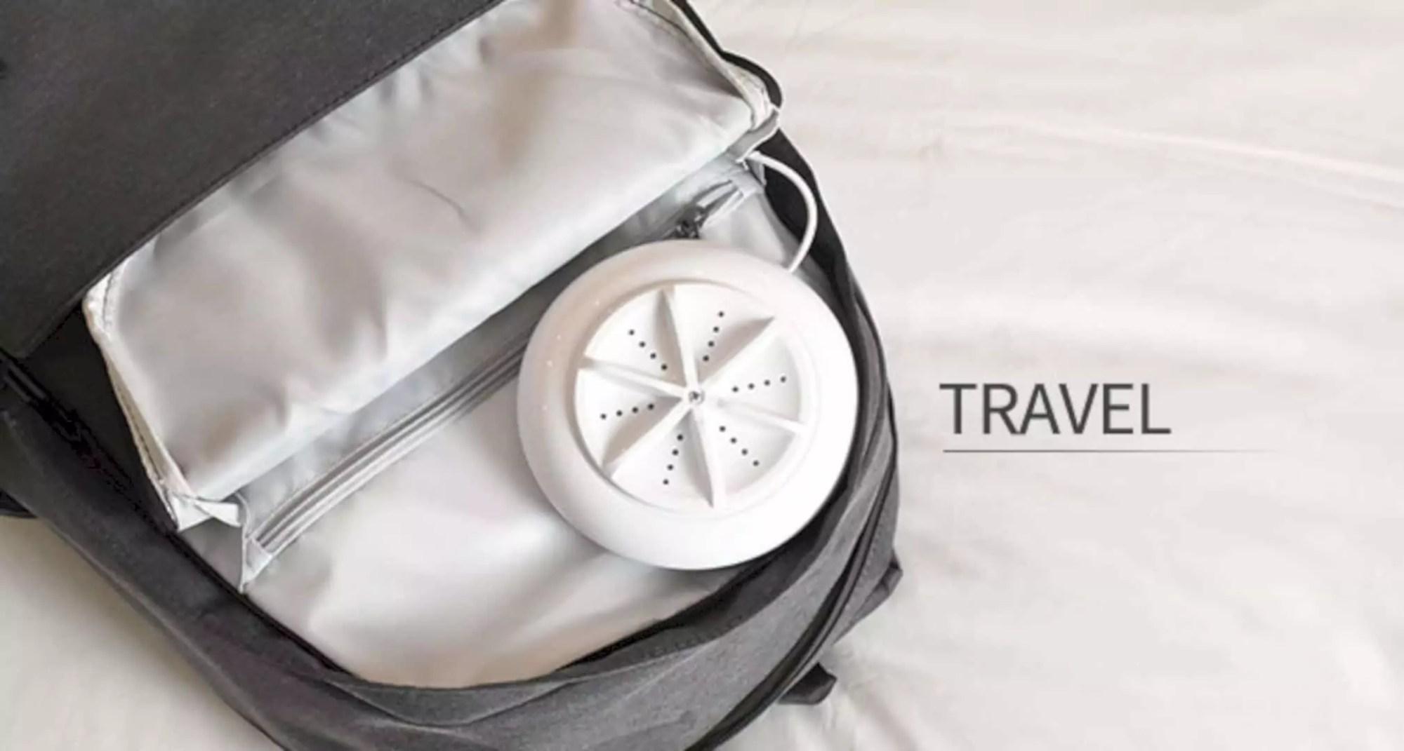 Soaclean: The Portable Ultrasonic Turbo Washing Device