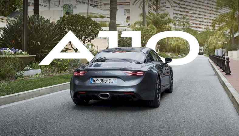 Alpine A110 10