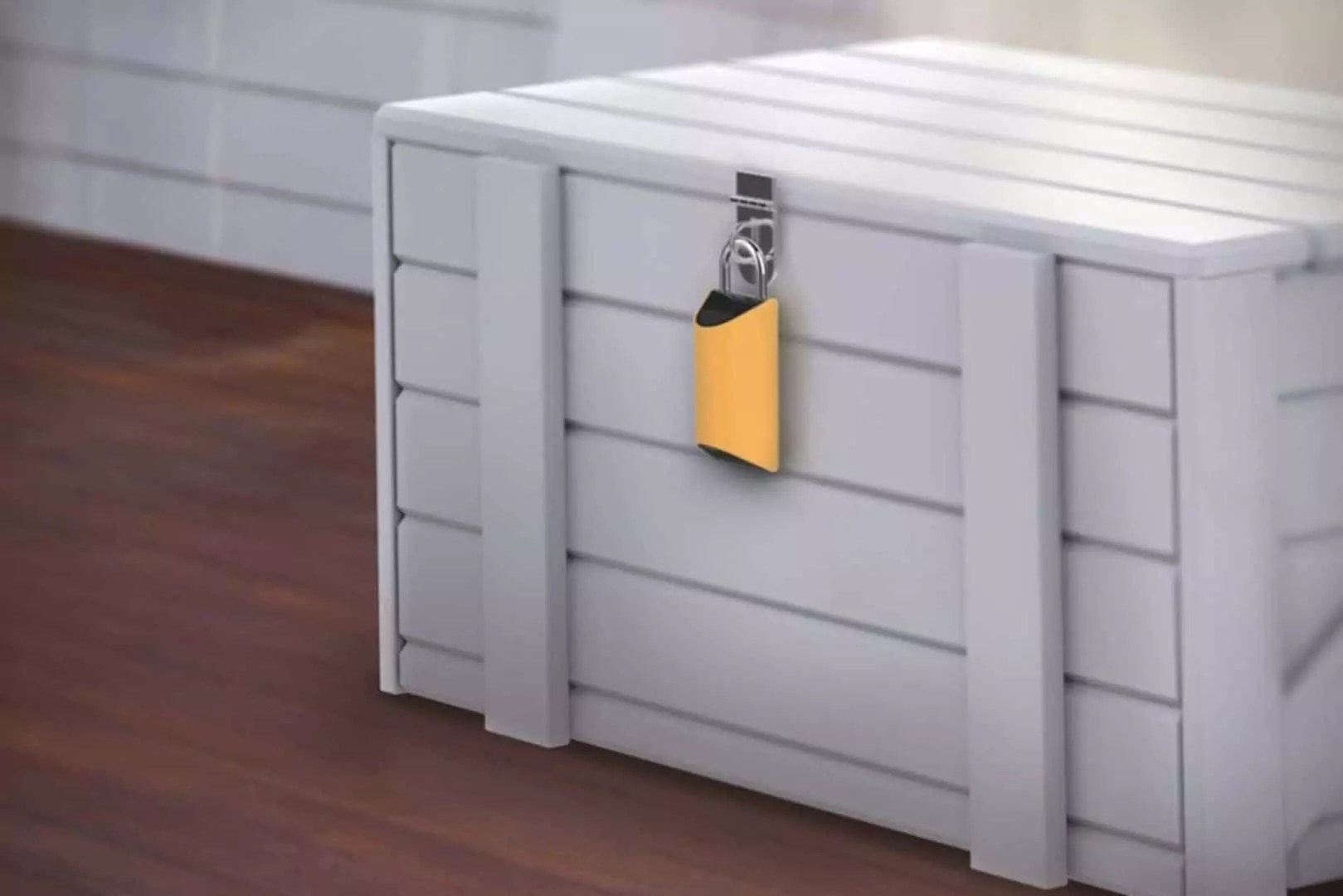 BoxLock: The first smart padlock designed to protect deliveries.
