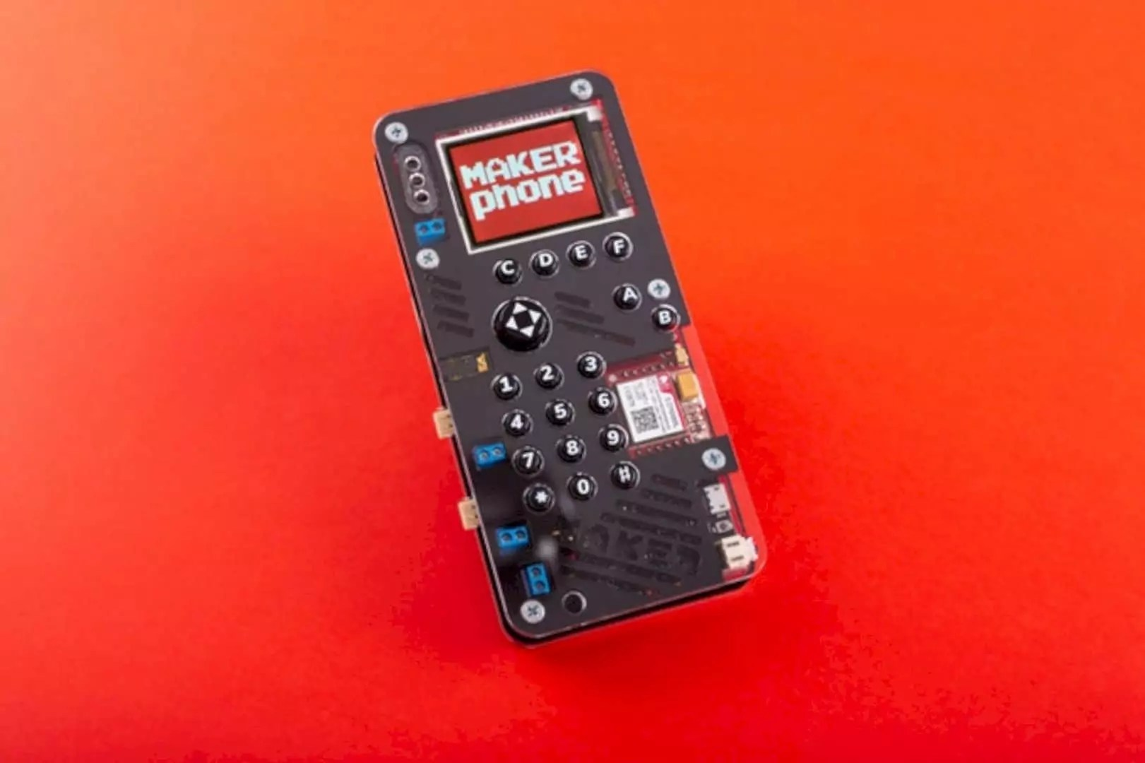 MAKERphone: Imagine if you could build your very own mobile phone!