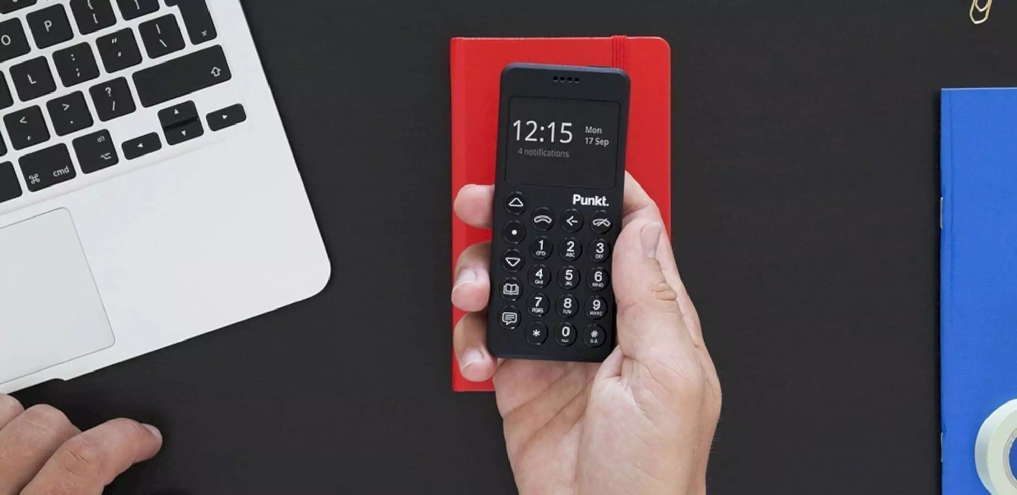 Punkt MP02 4G Mobile Phone: The best of both worlds.