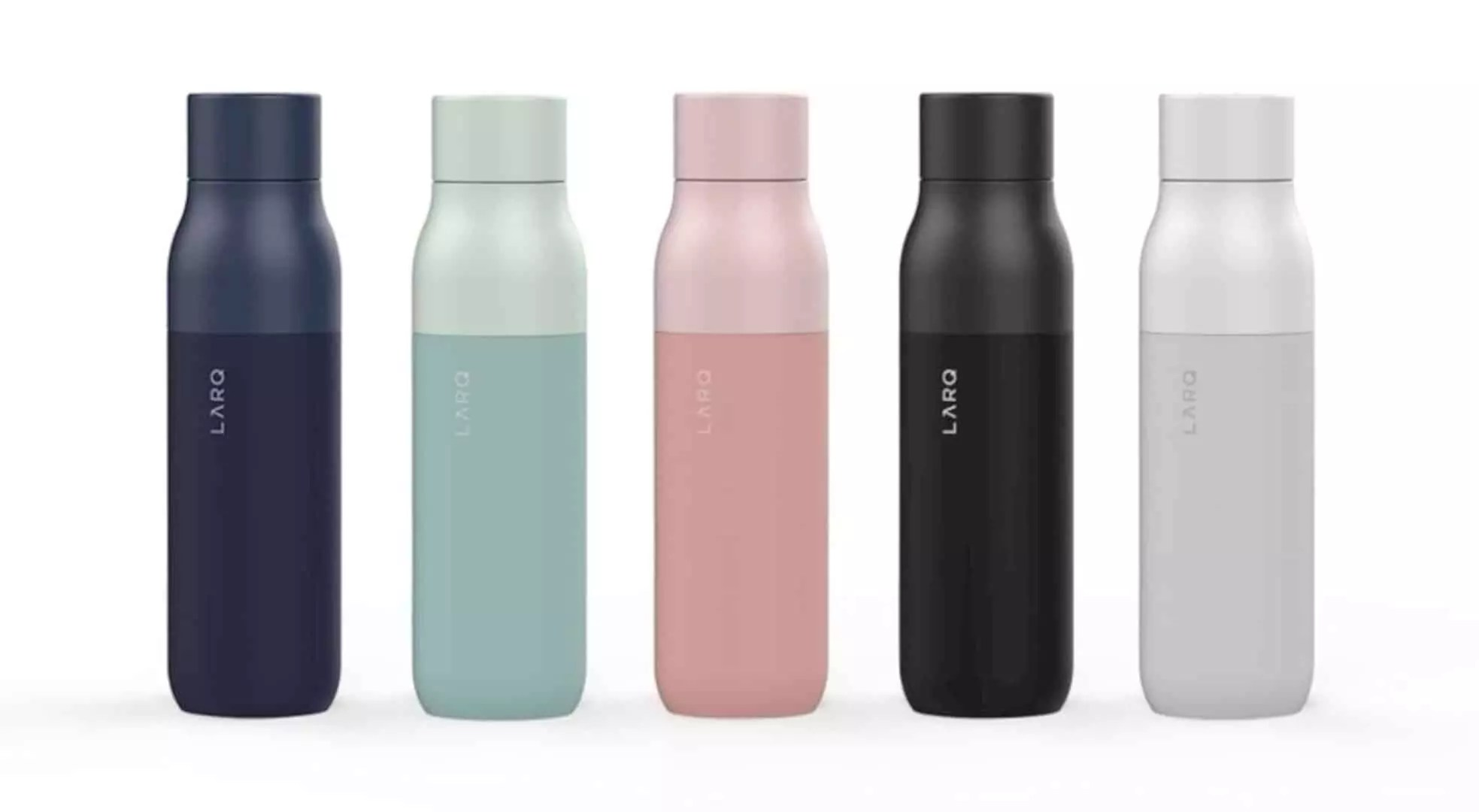 The LARQ Bottle: water purification in a self-cleaning bottle