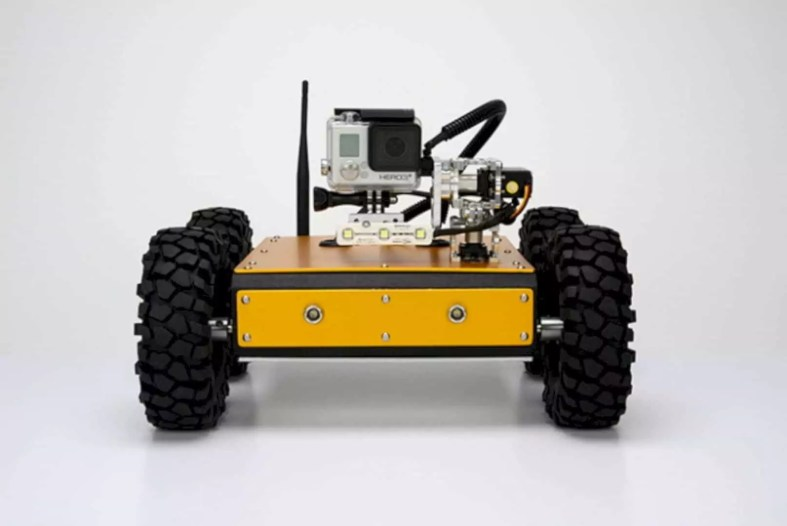 The Pan Tilt Minibot 4