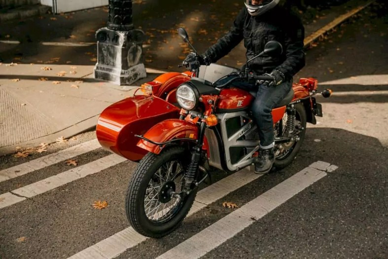 The Ural All Electric Prototype 5