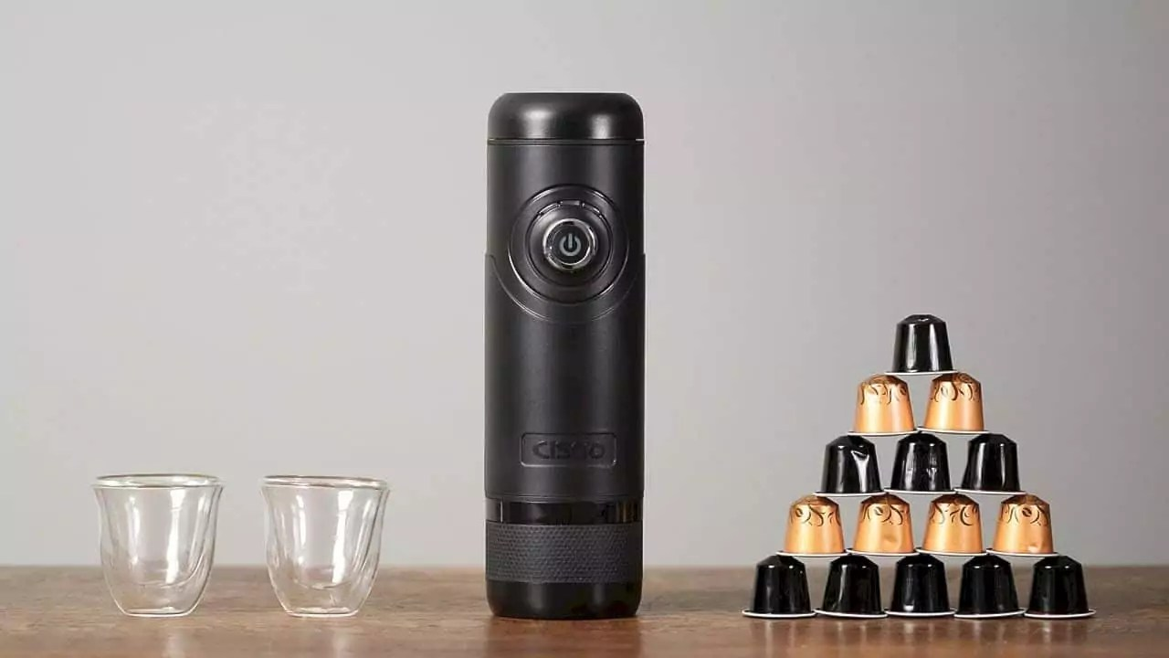 Cisno Portable Electric Espresso Machine 7