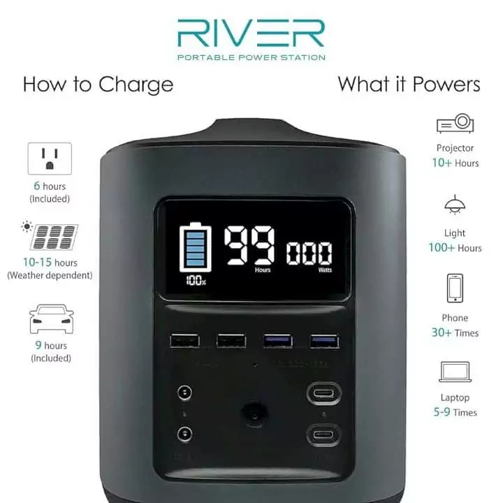 Ecoflow River Mobile Power Station 8