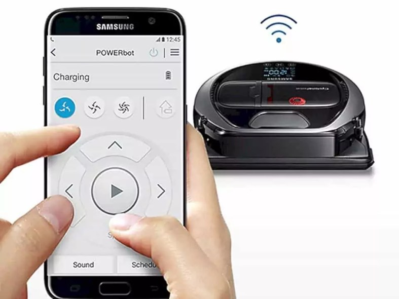 Samsung Powerbot Robot Vacuum 9