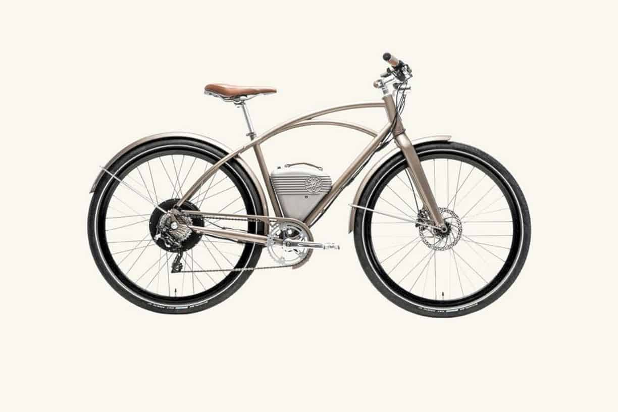 Vintage Electric Cafe Bike The Commuter Electric Bike