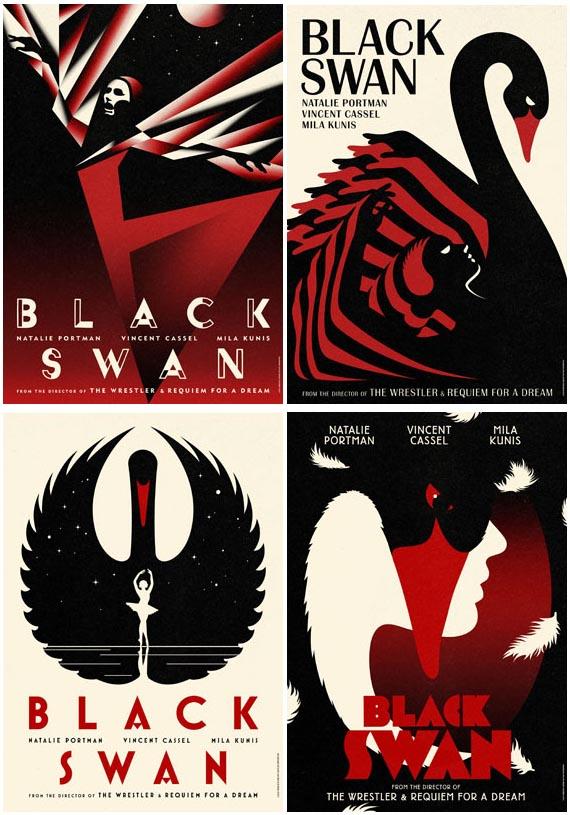 La Boca Black Swan film posters