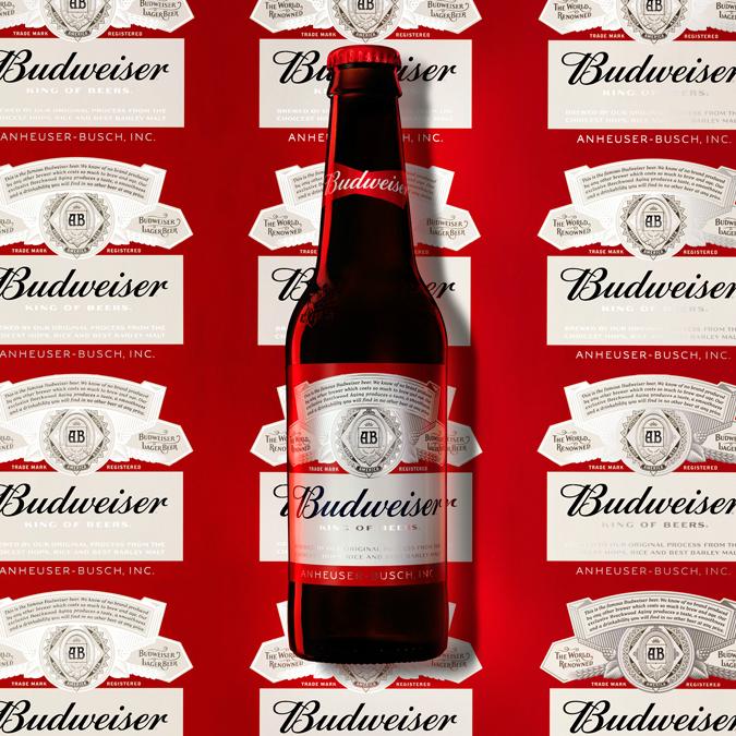 2016 Budweiser bottle by jkr New York