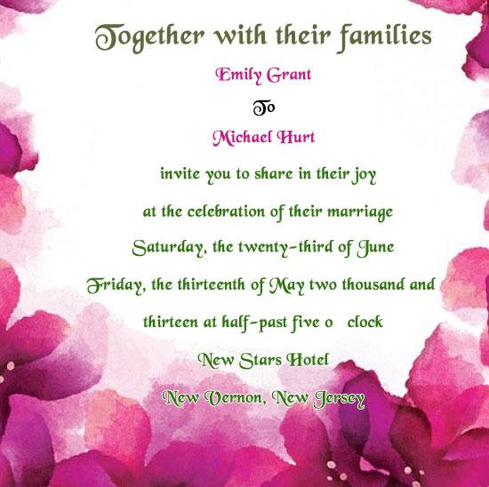 Wedding Invite Verses Uk Invitation Ideas