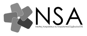 NSA Logo greek bw