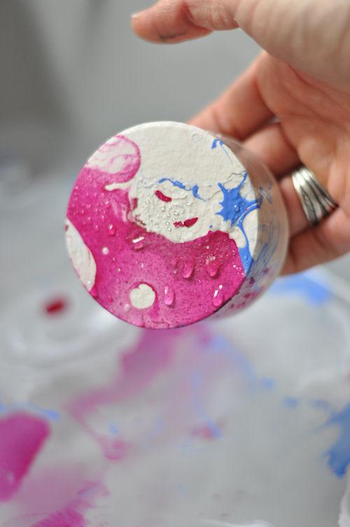 DIY | Hacer efecto mármol con pintauñas