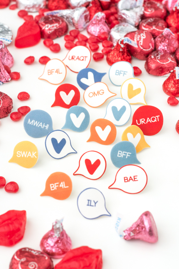 Shrinky Dink Valentines Perfect For Classmates Free