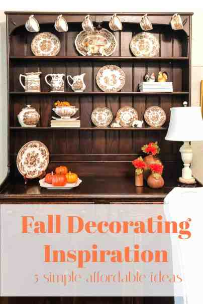 fall decoratin inspiration