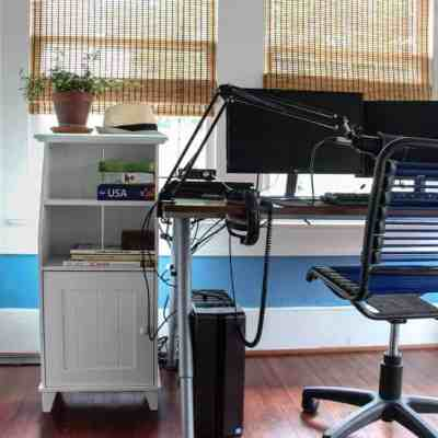 Computer Cord Organization For Normal People Who Don't Want to Spend A Fortune