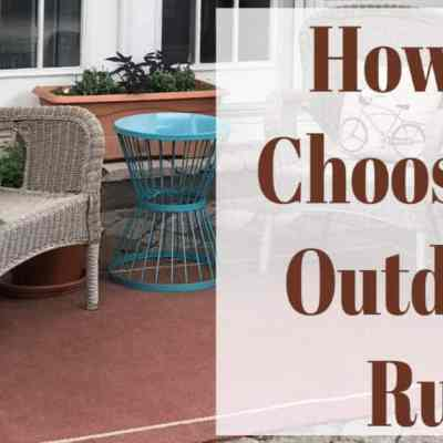 Guide to Outdoor Rugs