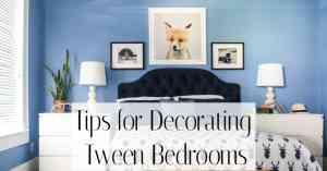 Tips for Decorating Tween rooms