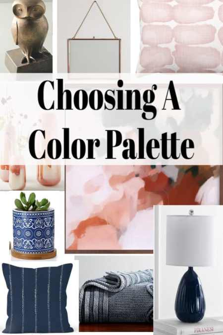 tips for choosing a color palette