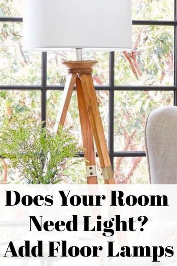 floor lamps in every room