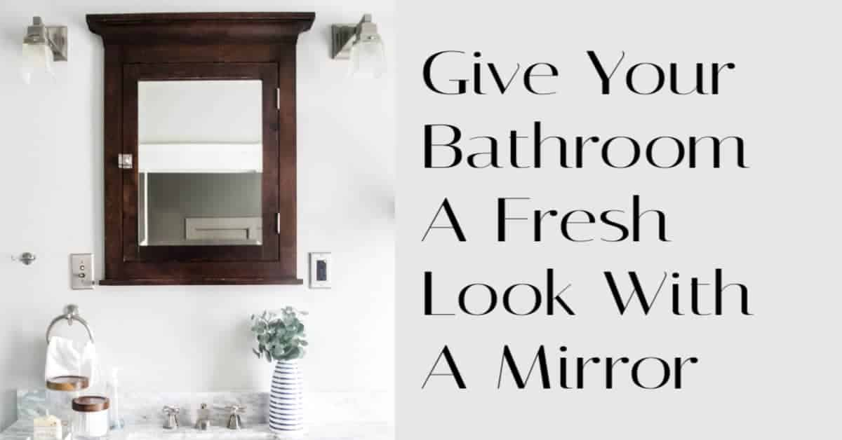 Bathroom Mirror Update
