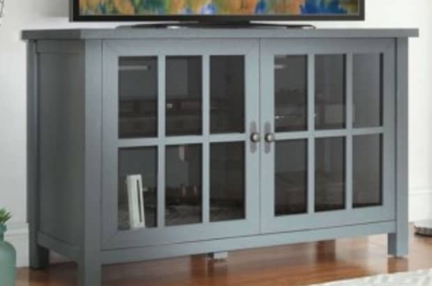 Better Homes and Gardens TV stand from Walmart