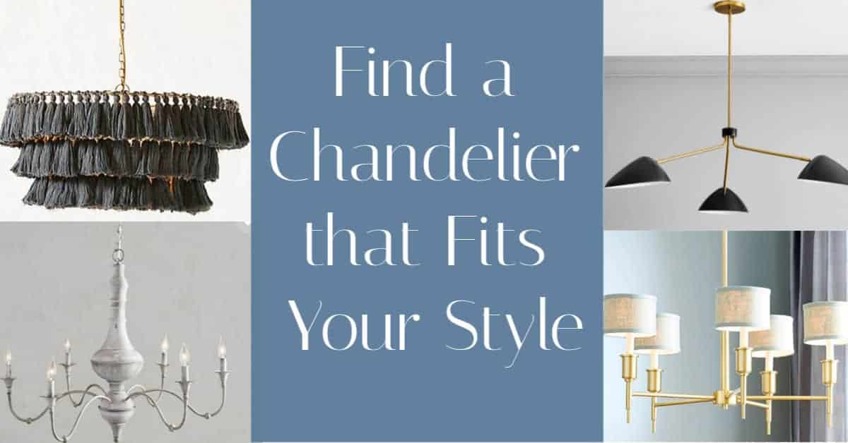 find the right chandelier for your budget
