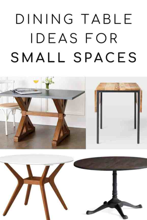 dining table ideas for small spaces