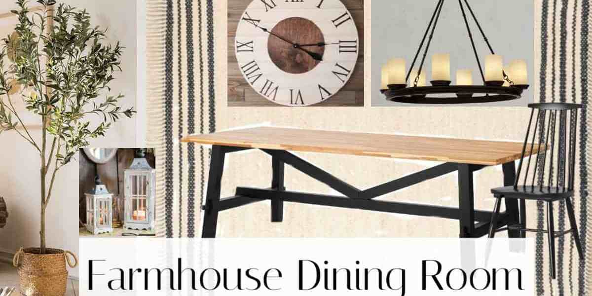 Farmnouse dining room