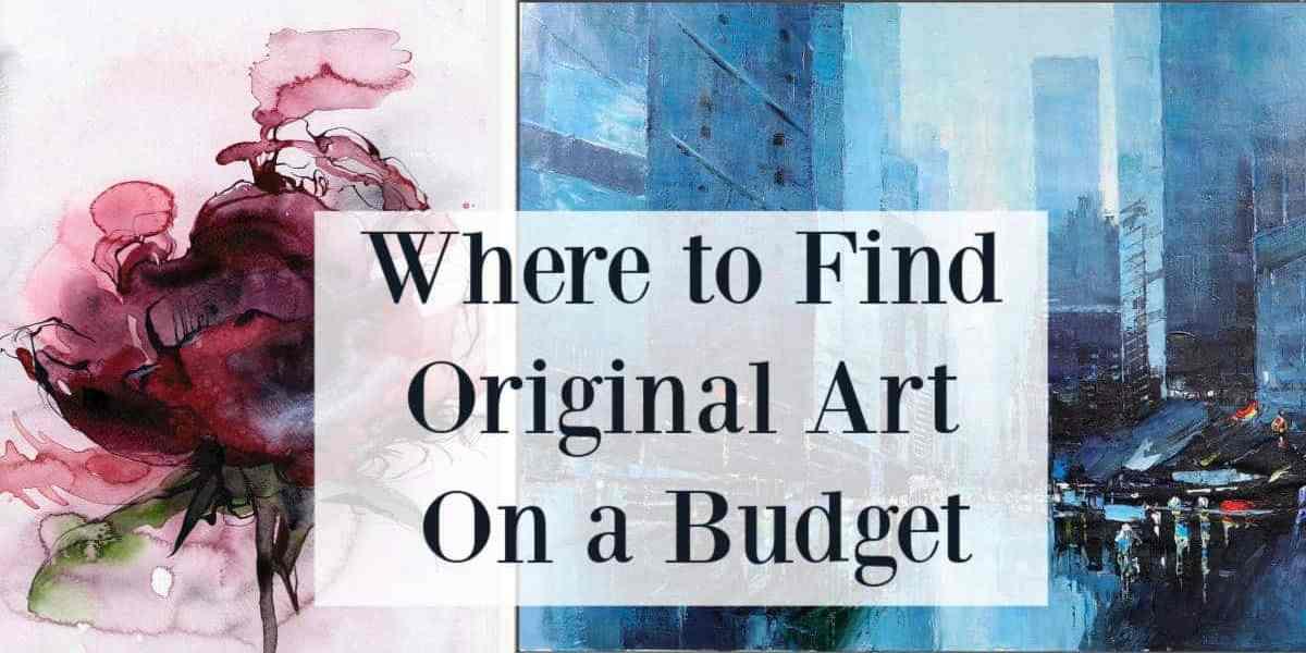 original art on a budget