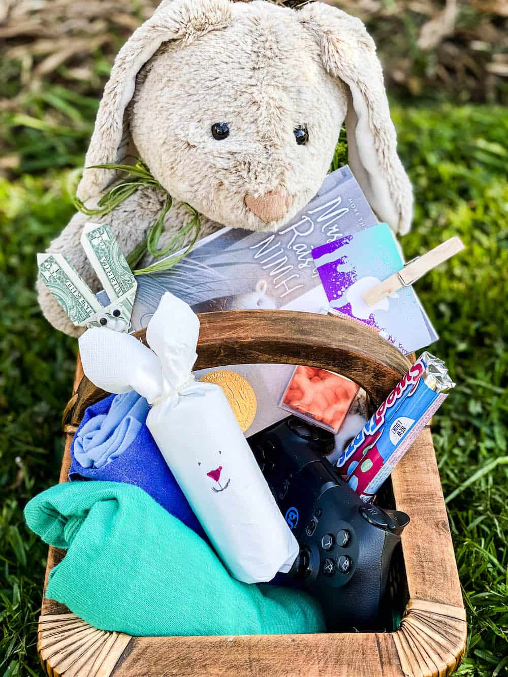 teen boy easter basket diy