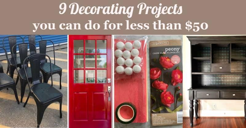 inexpensive decorating ideas
